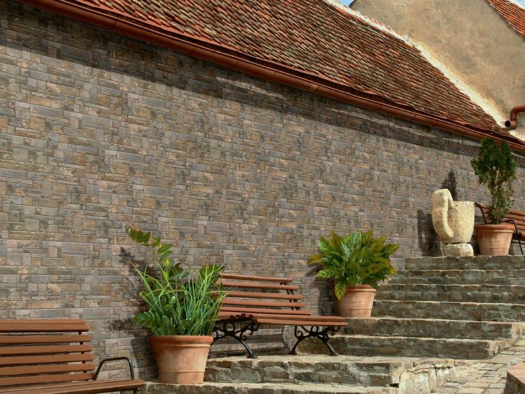 Revestimiento de pared suelo de gres porcel nico para - Revestimiento para paredes exteriores ...