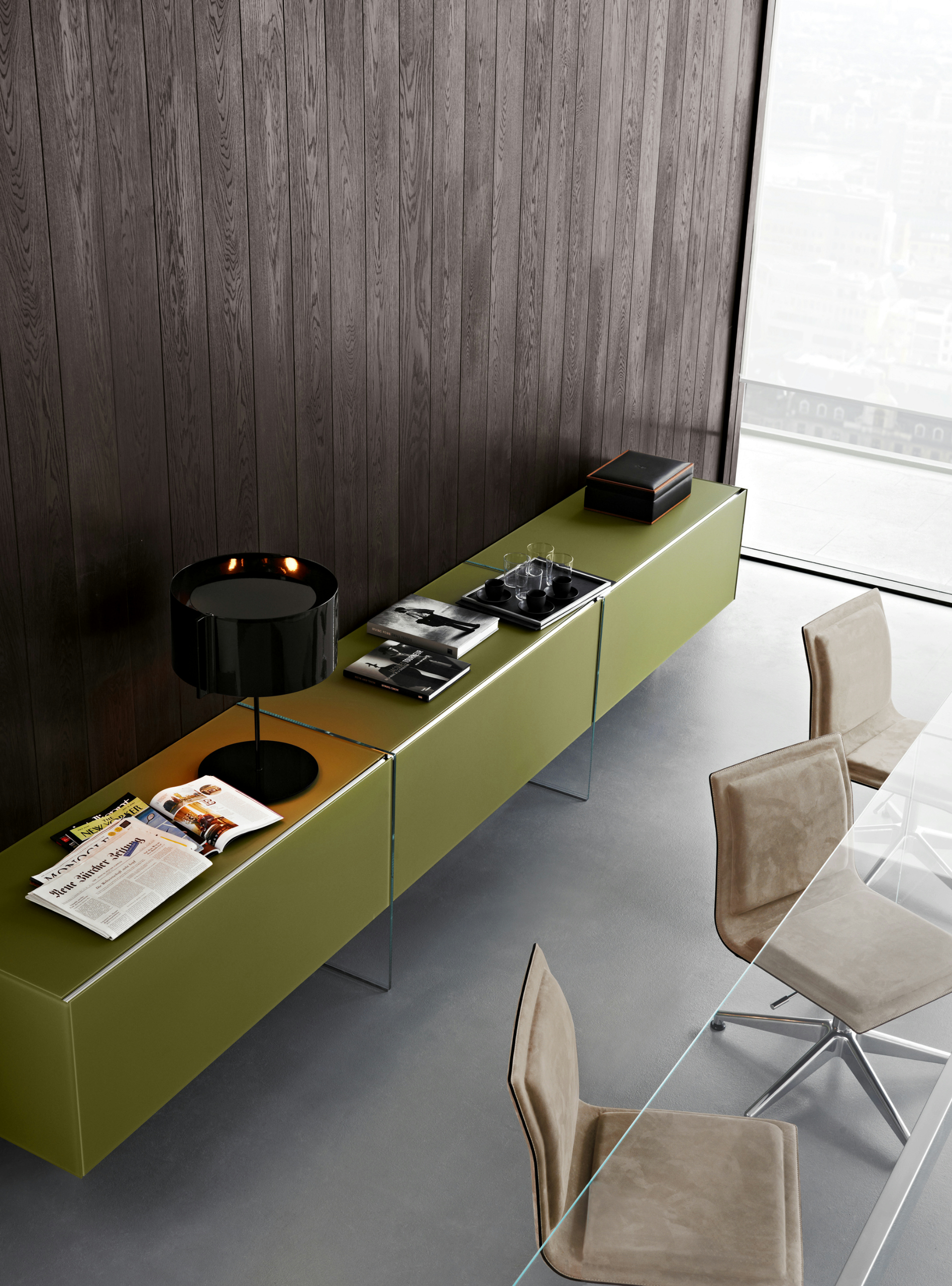 freestanding modular storage unit air unit by gallotti radice design pinuccio borgonovo. Black Bedroom Furniture Sets. Home Design Ideas