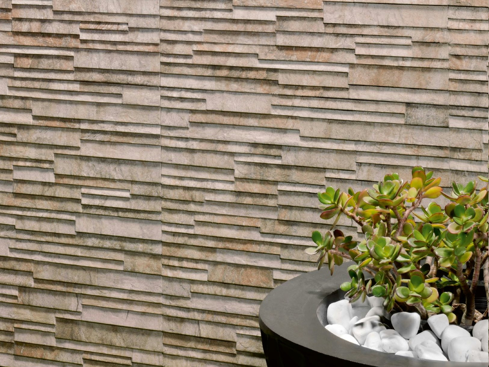 Outdoor Porcelain Stoneware Wall Tiles Mindanao By Realonda