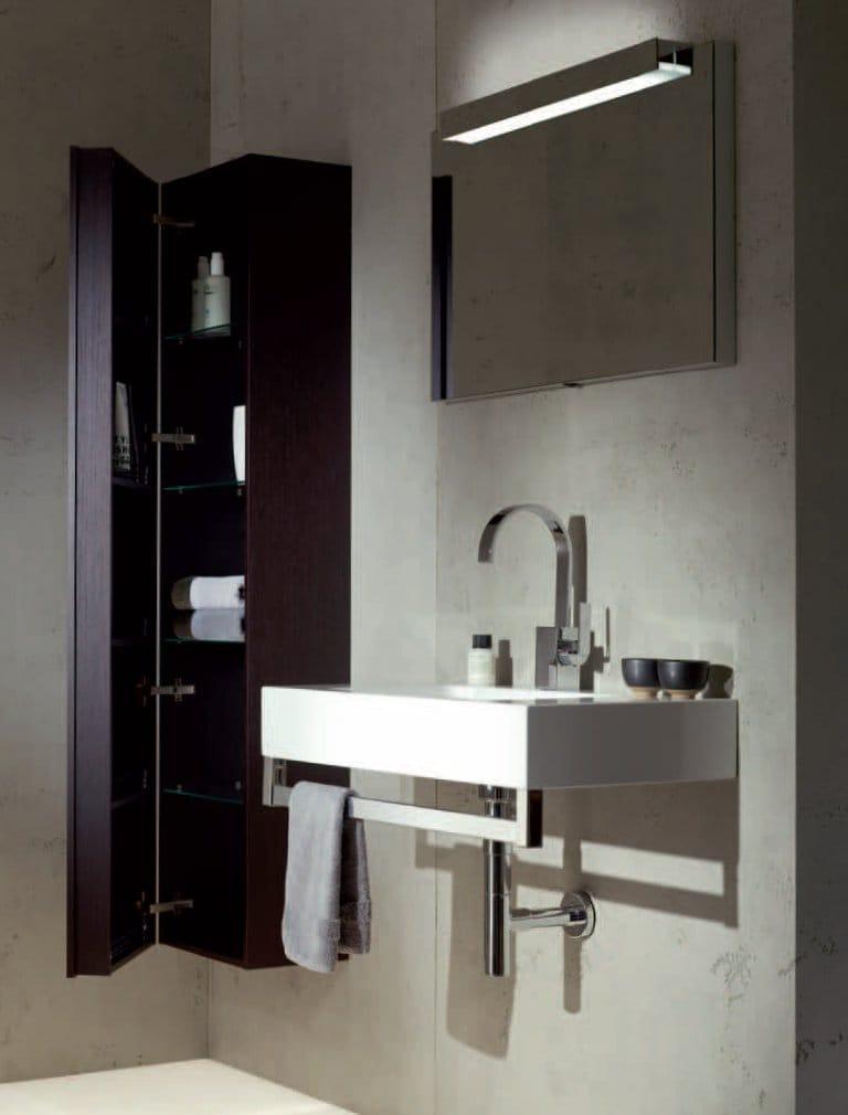 Meuble pour salle de bain haut suspendu hs by alape for Produits pour salle de bain