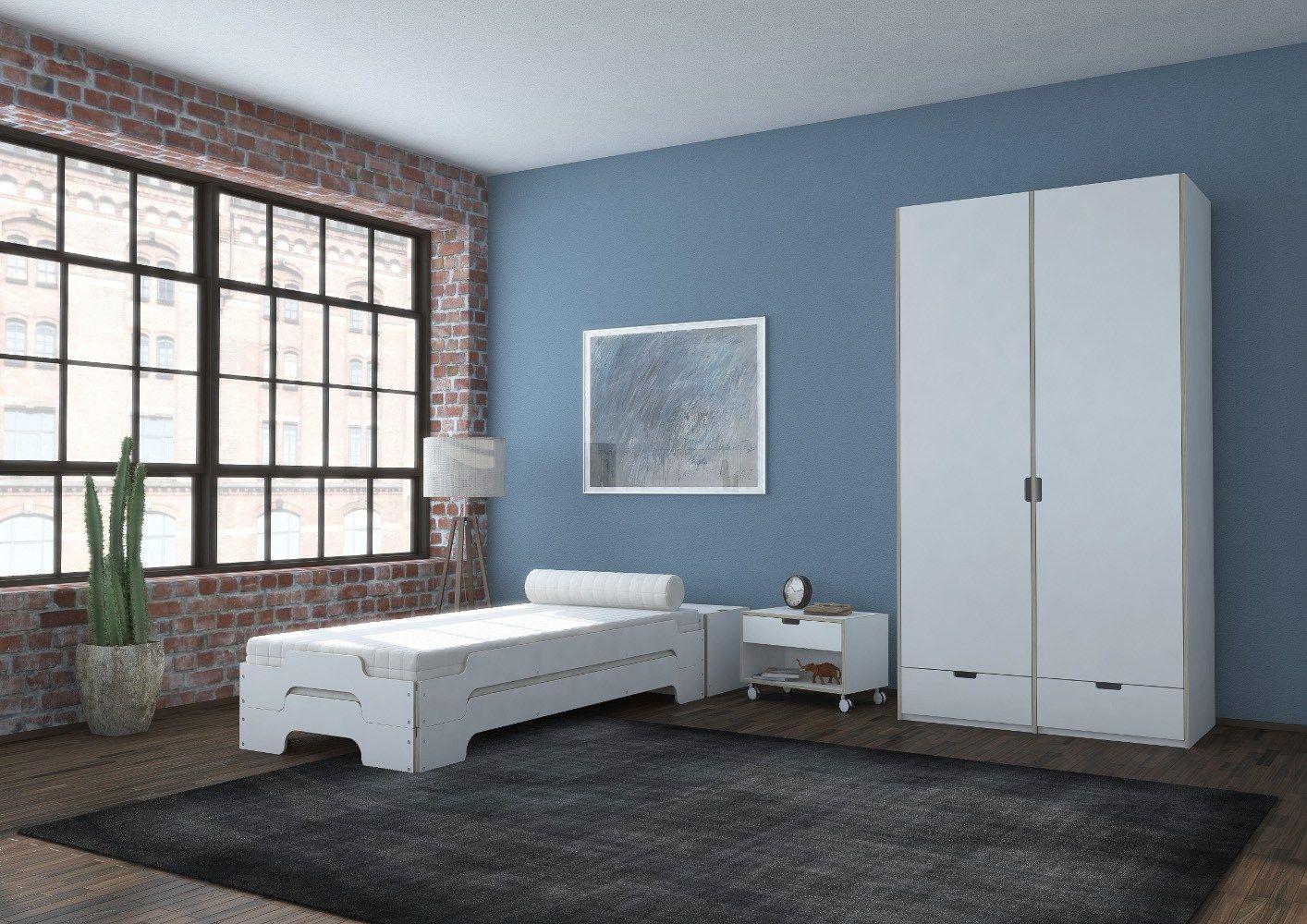 lit simple empilable lit empilable by m ller m belwerkst tten design rolf heide. Black Bedroom Furniture Sets. Home Design Ideas