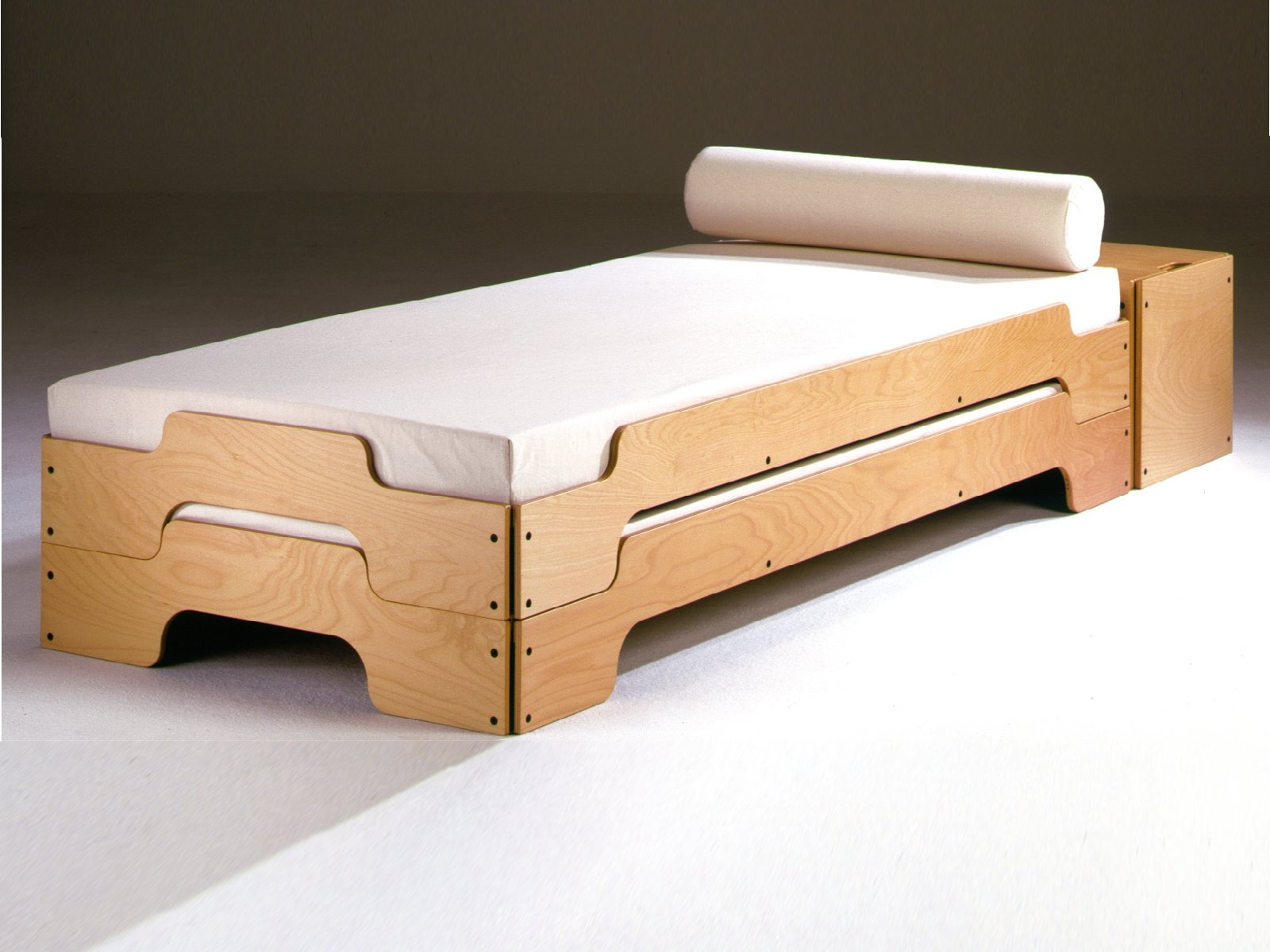 Stackable single bed stackable bed by m ller m belwerkst tten design rolf heide - Images of bed design ...