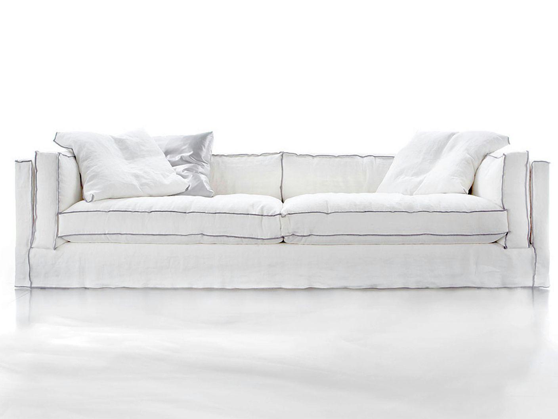 Divani stile country chic idee per il design della casa - Ricoprire un divano ...