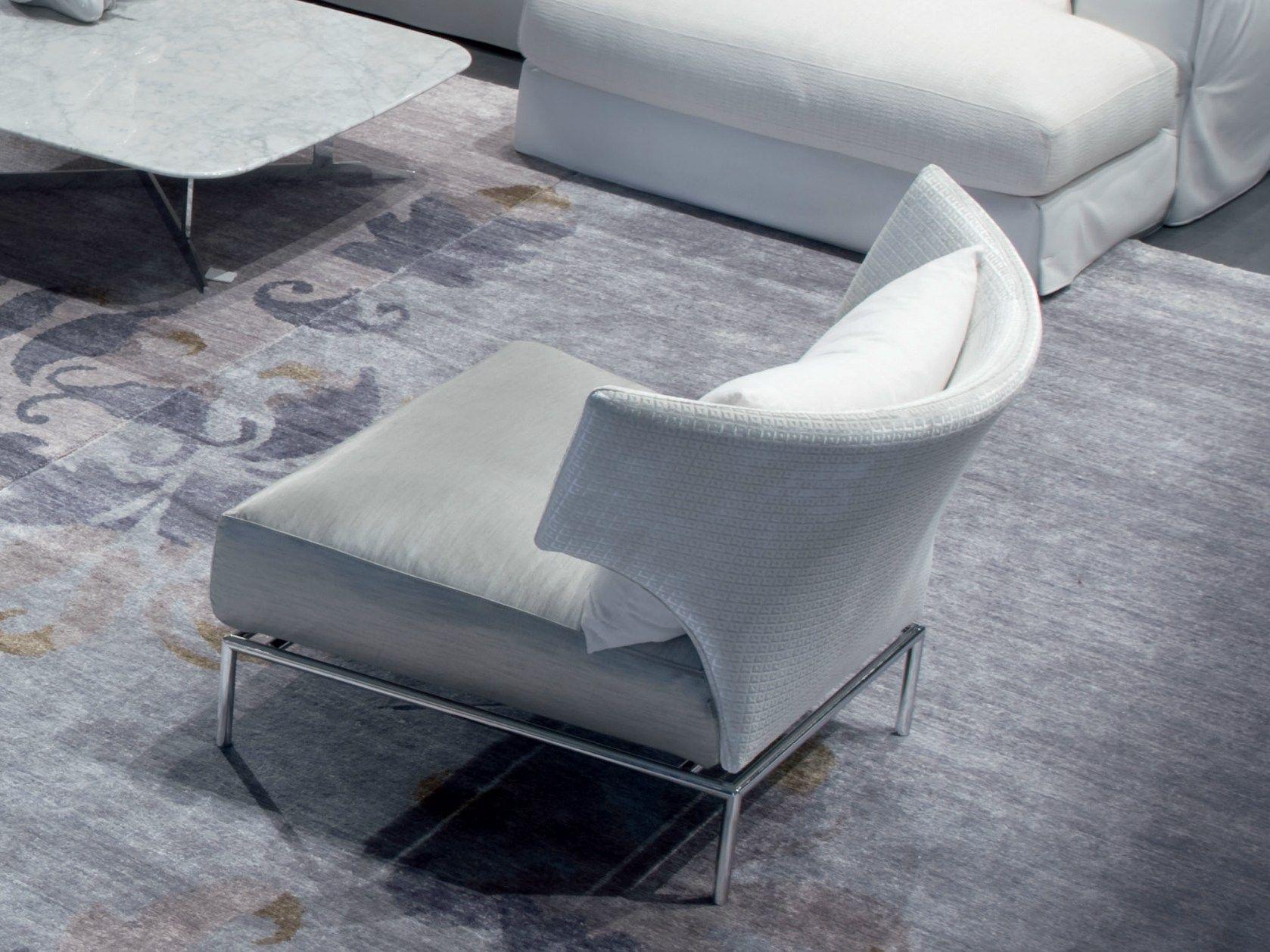 fauteuil oreilles rembourr abbraccio by erba italia. Black Bedroom Furniture Sets. Home Design Ideas