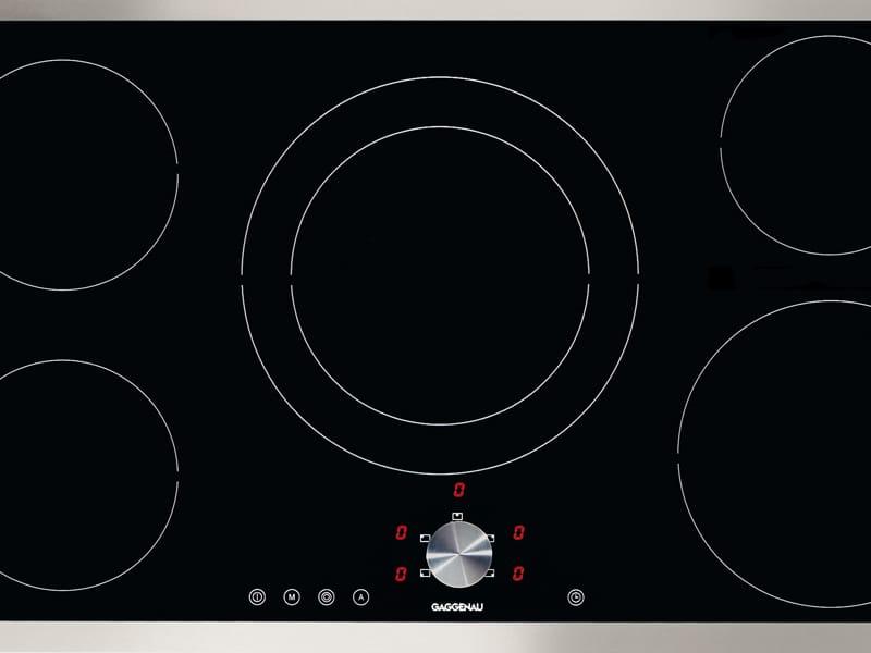 piano cottura a induzione filo top ci 491 collezione ci by gaggenau. Black Bedroom Furniture Sets. Home Design Ideas