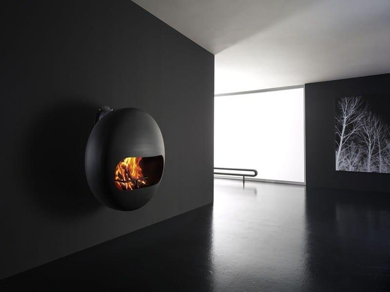 Bubble chimenea de leña by antrax it radiators & fireplaces diseño ...