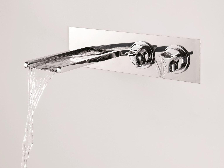 Clock work grifo para lavabo de pared by rubinetterie - Grifos de lavabo de diseno ...