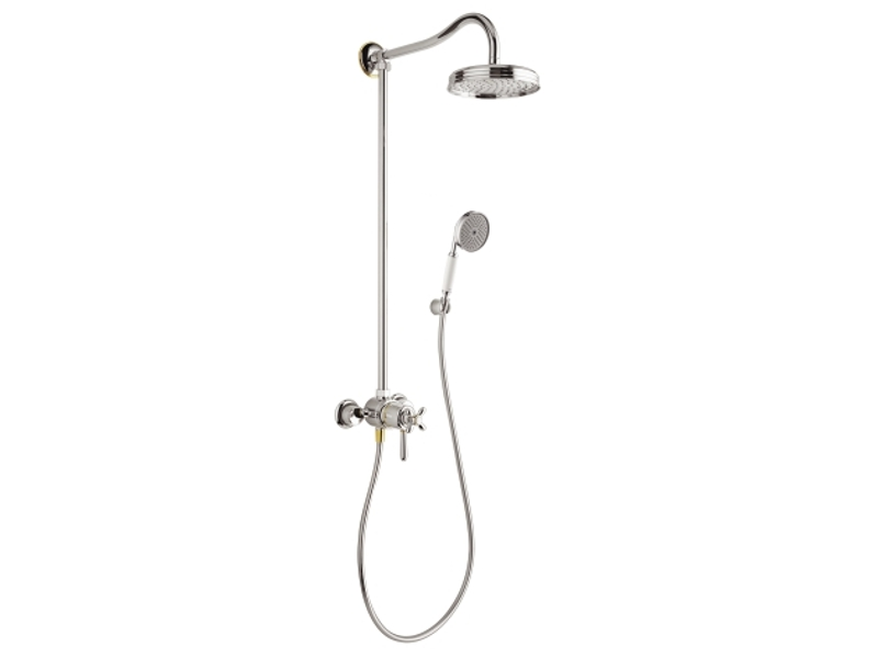 Colonne de douche thermostatique collection axor carlton - Colonne de douche hydromassante hansgrohe ...