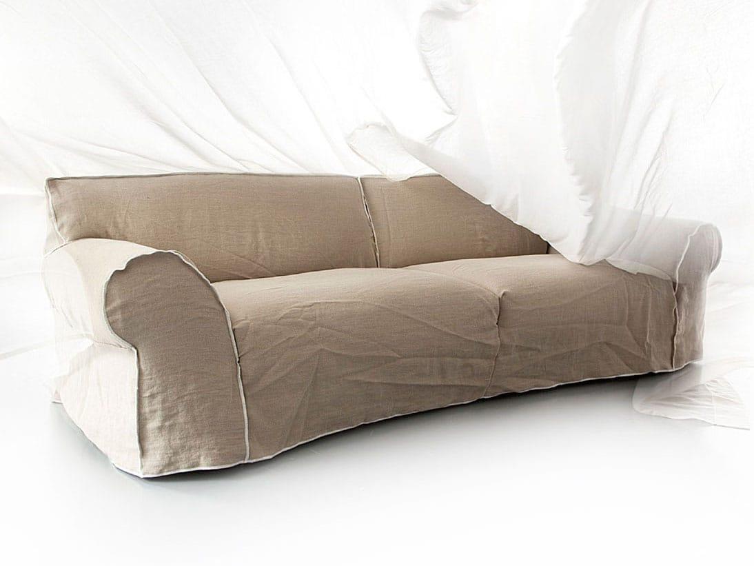 Sofa aus stoff mick by erba italia design giorgio soressi - Divano letto shabby ...
