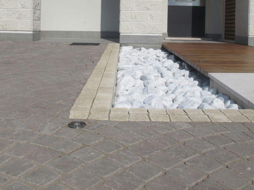 Pavimento para exteriores de cimento com efeito de pedra - Pavimentos para exteriores ...