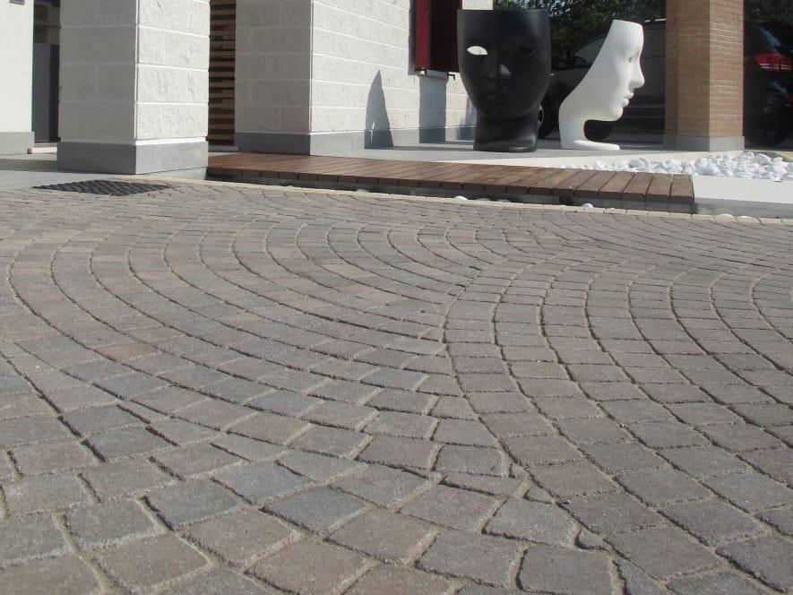 Baldosas de exterior de cemento efecto piedra motivi by - Precio baldosas exterior ...