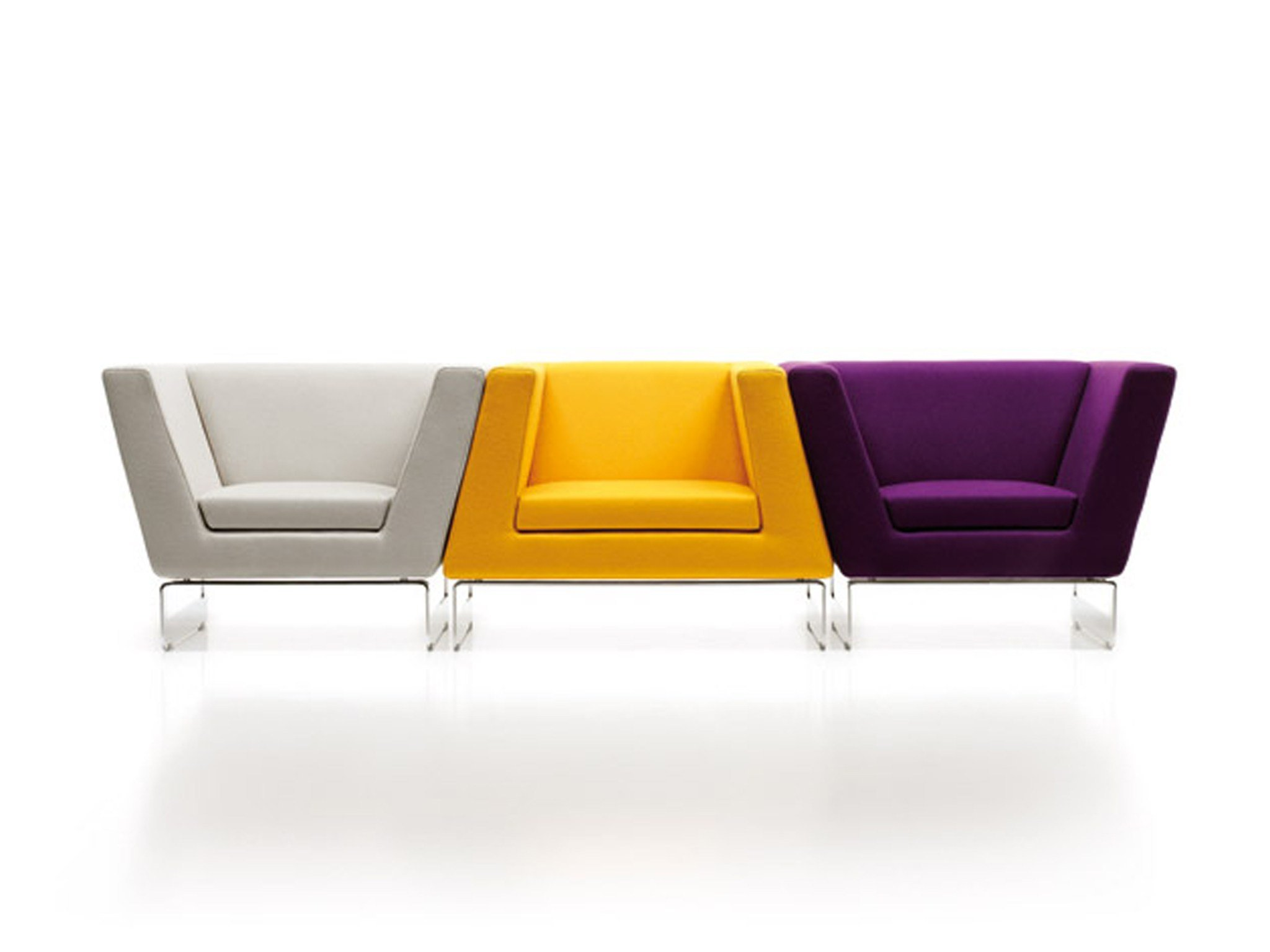 ESTEL GROUP | Products | Archiproducts - Armchair with fire retardant padding LADY & SIR FUNK. ESTEL GROUP