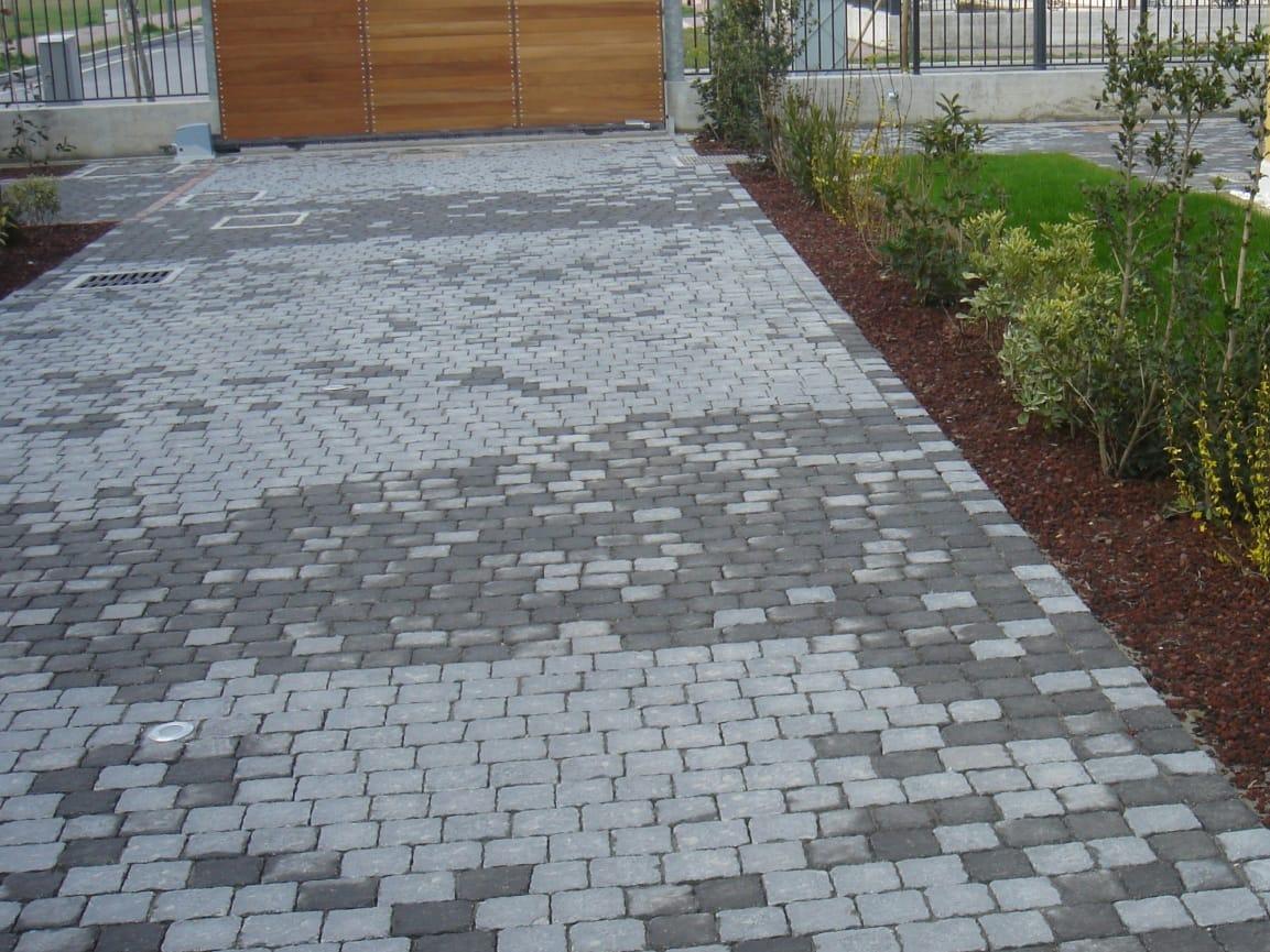 Baldosas de exterior de cemento efecto piedra lithos by - Pavimento para exterior ...