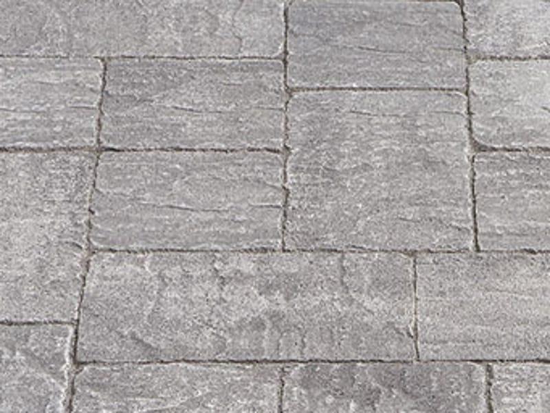 Pavimento per esterni in cemento effetto pietra borgo - Piastrelle per esterni effetto pietra ...