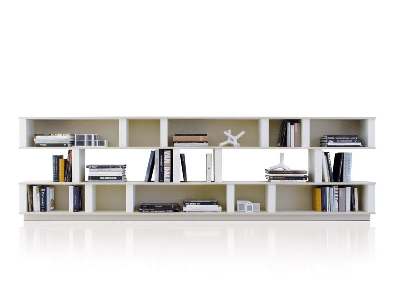 Biblioth que laqu e up pill by estel group design giovanni galla - Bibliotheque basse design ...