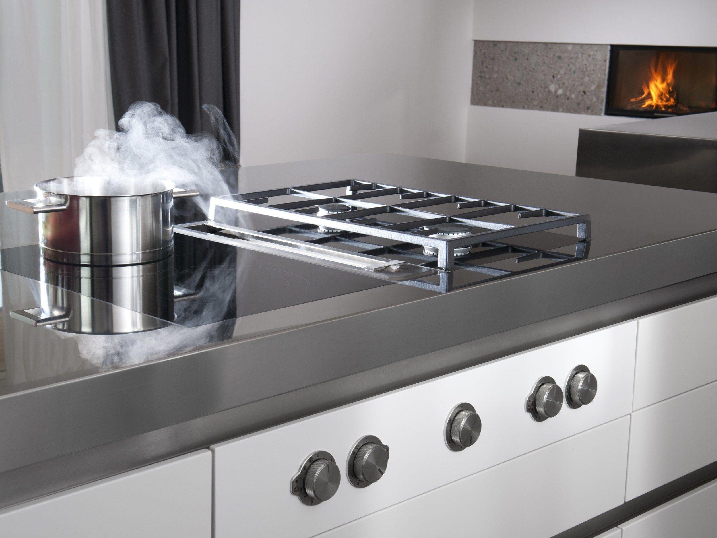 hotte professionnelle en acier inoxydable hotte pour plan. Black Bedroom Furniture Sets. Home Design Ideas