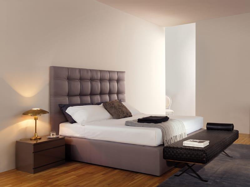 Letto imbottito sommier lavande by estel group design adp design - Testiera letto design ...