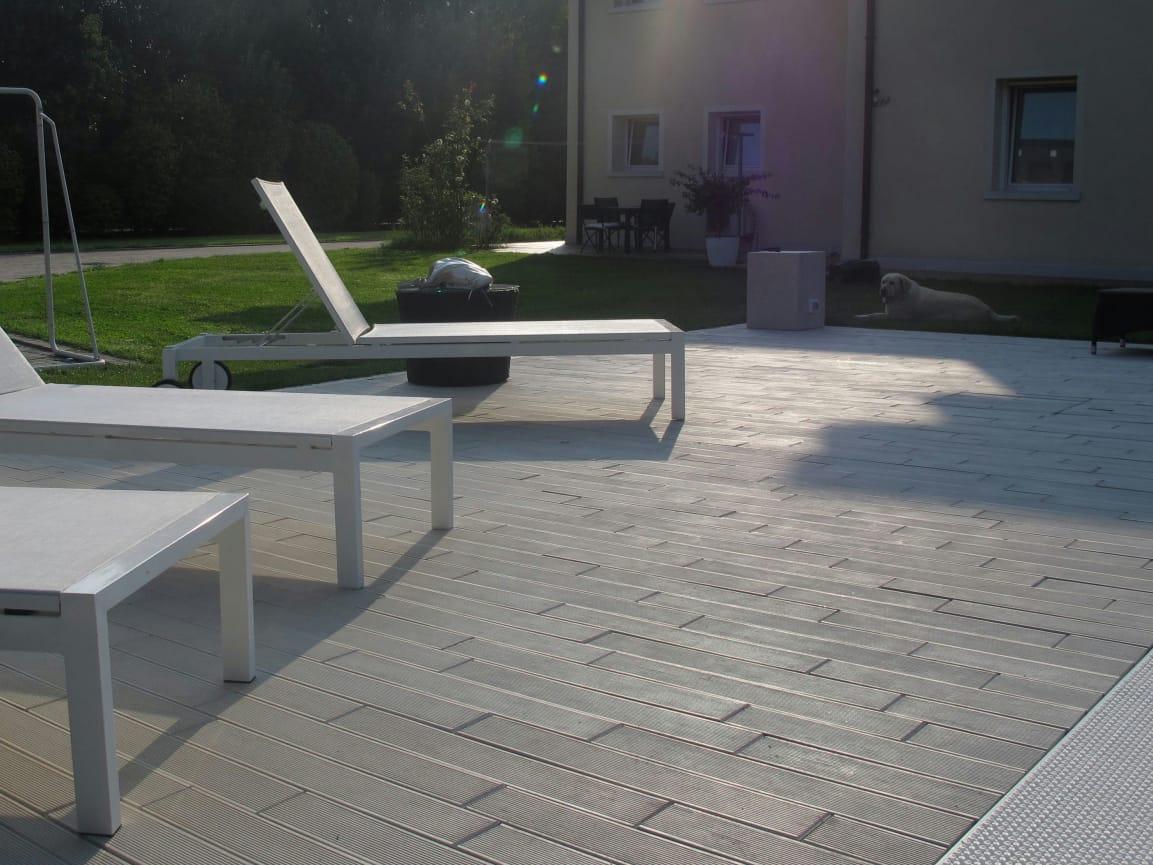 Carrelage ext rieur en ciment effet bois doga 50x50 by favaro1 - Carrelage en ciment ...