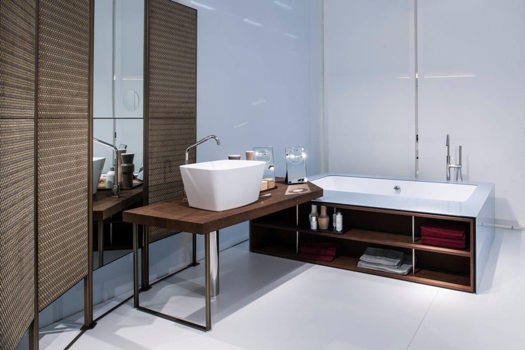 waschtisch aus holz wing table by makro design marco taietta. Black Bedroom Furniture Sets. Home Design Ideas
