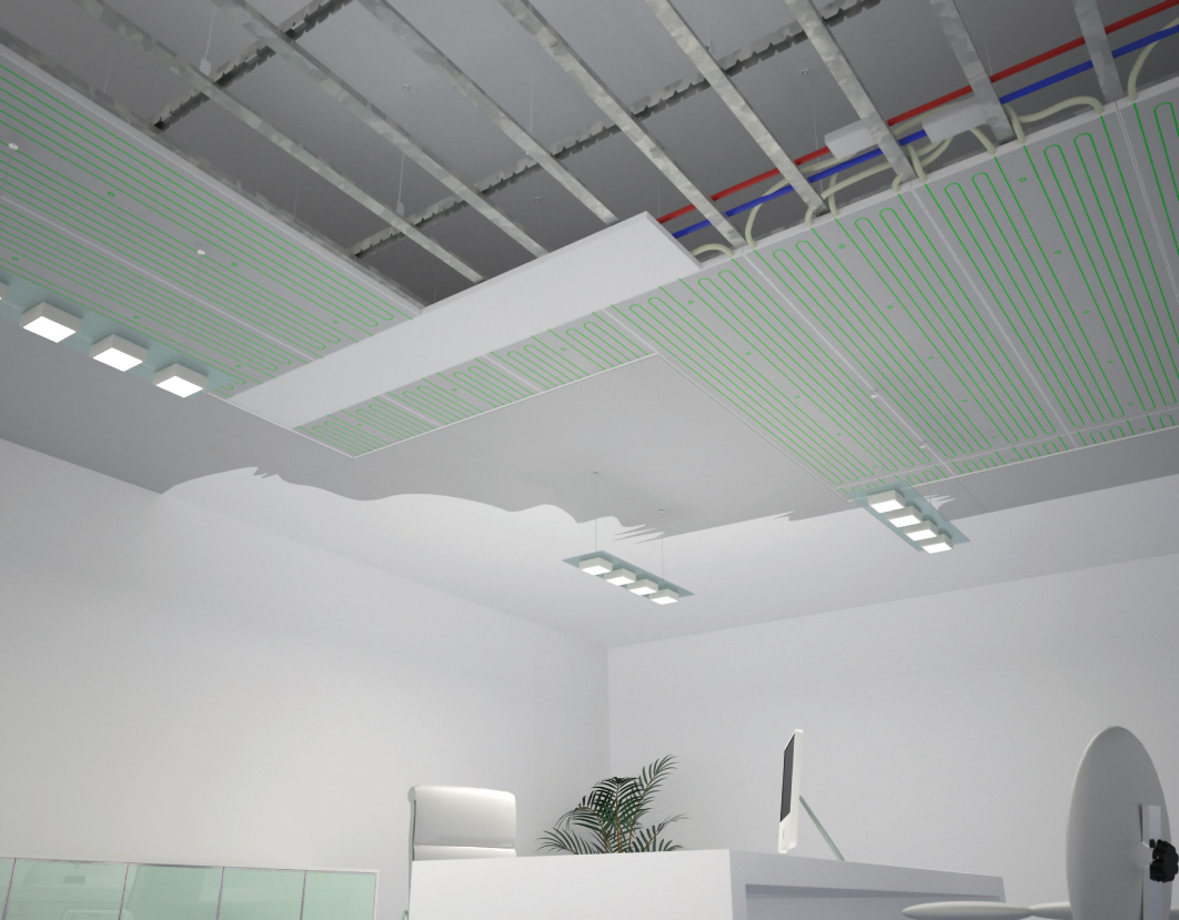 Radiant Wall Panel Radiant Ceiling Panel B Klimax By Rdz