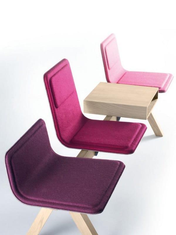 chaises sur poutre en tissu collection laia by alki design jean louis iratzoki. Black Bedroom Furniture Sets. Home Design Ideas