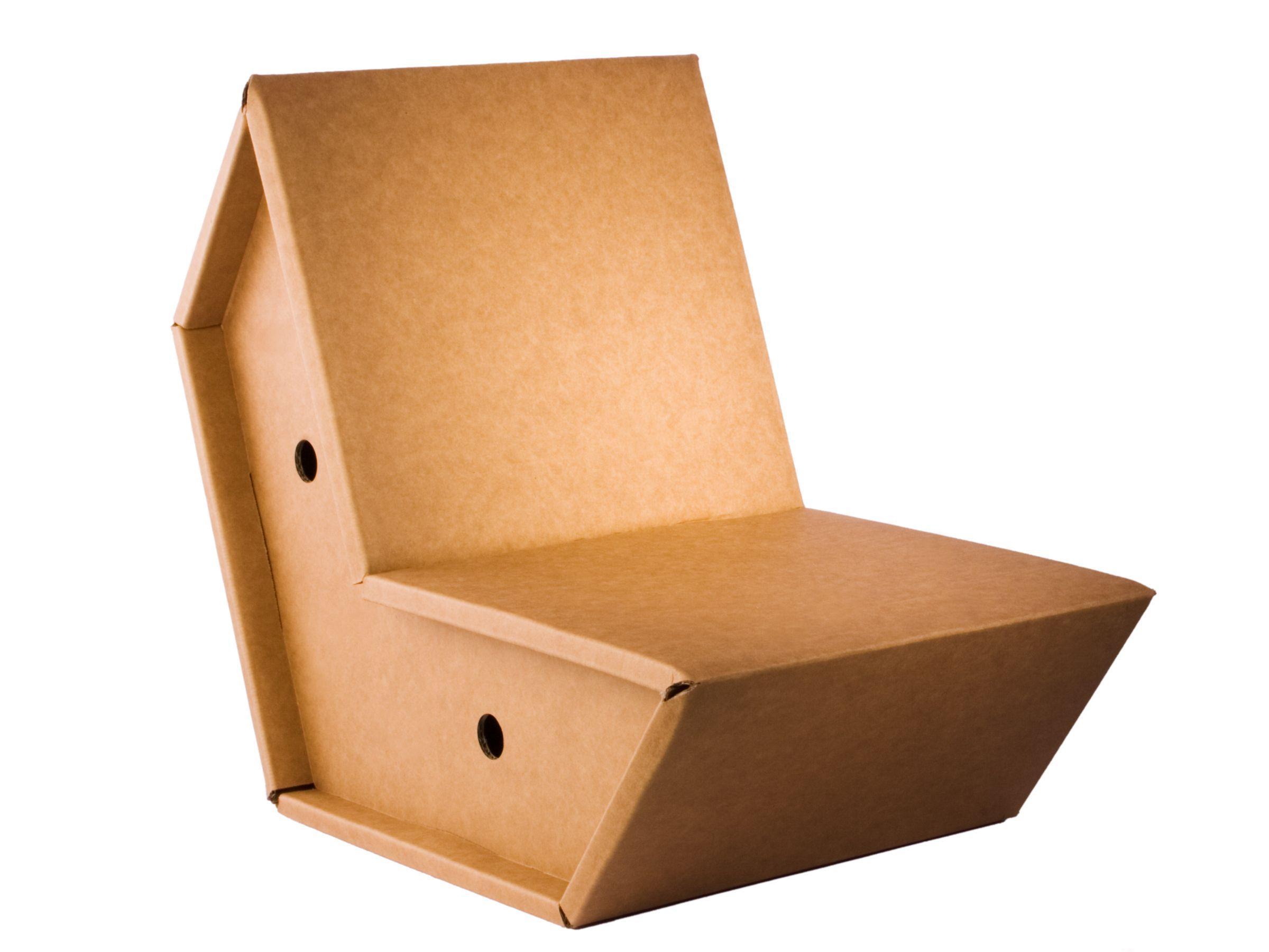 Cardboard Chair Otto By Pulpo Ursula L Hoste Design