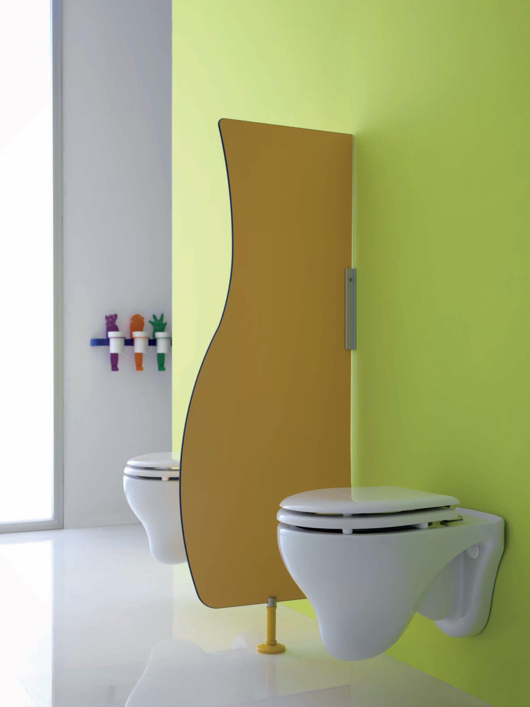 banheiro em HPL BAGNOCUCCIOLO® MILLEPIEDI Divisória para banheiro #839734 1842 2455