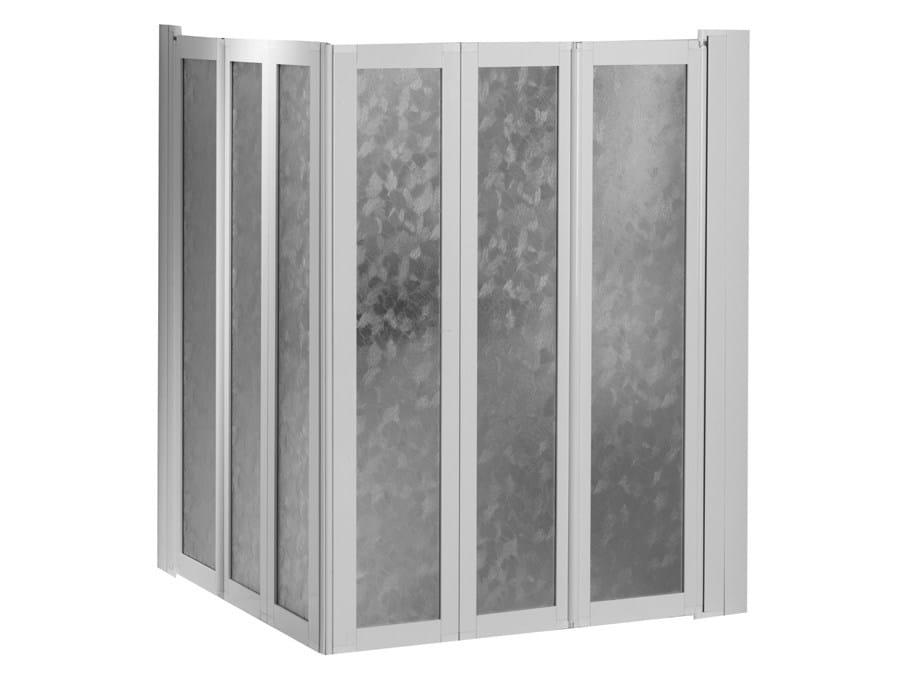 Mampara de ducha de metacrilato colecci n bagnosicuro 400 for Mamparas de ducha acrilicas
