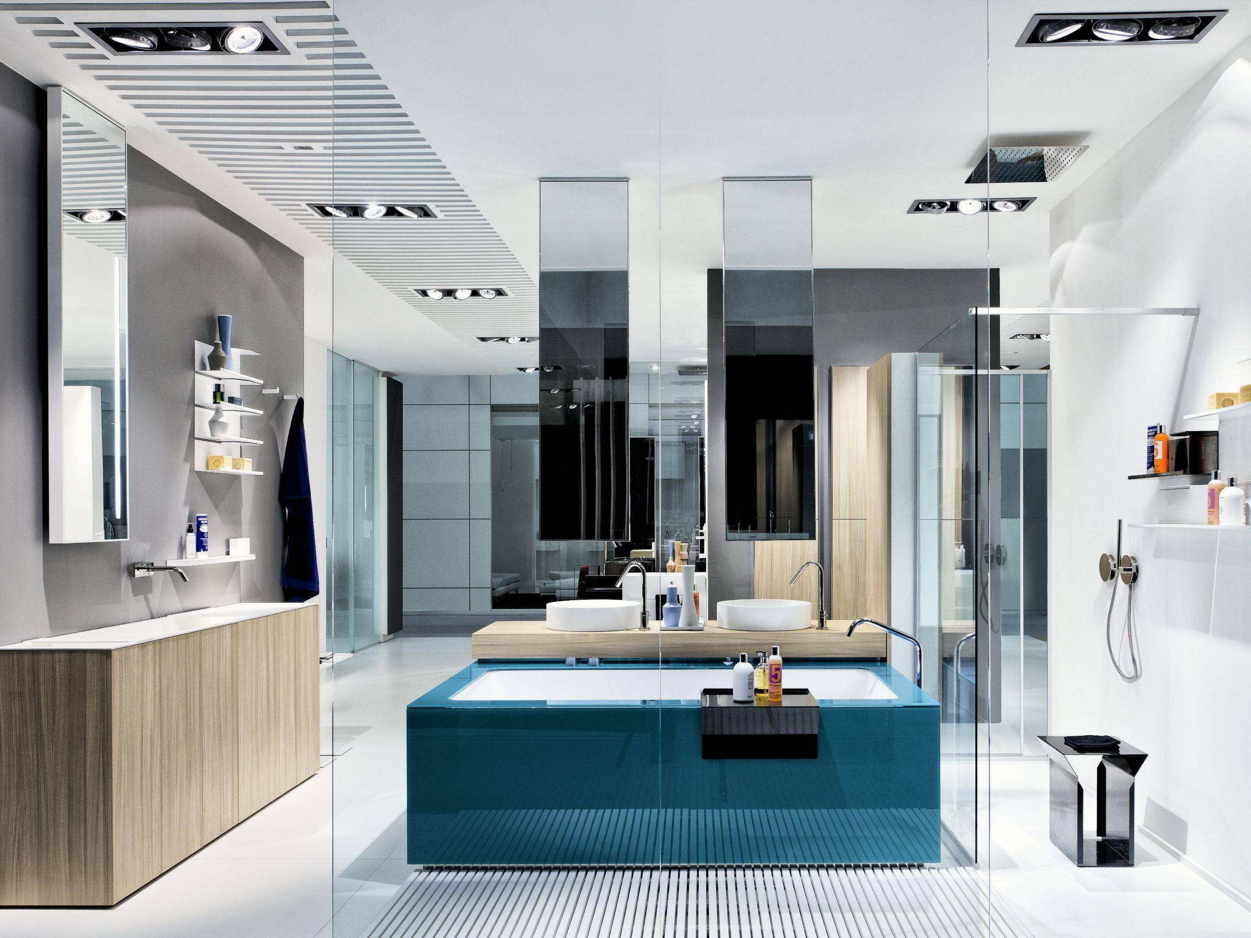Salle de bains compl te baignoire lavabo bacs douche for Tarif salle de bain complete
