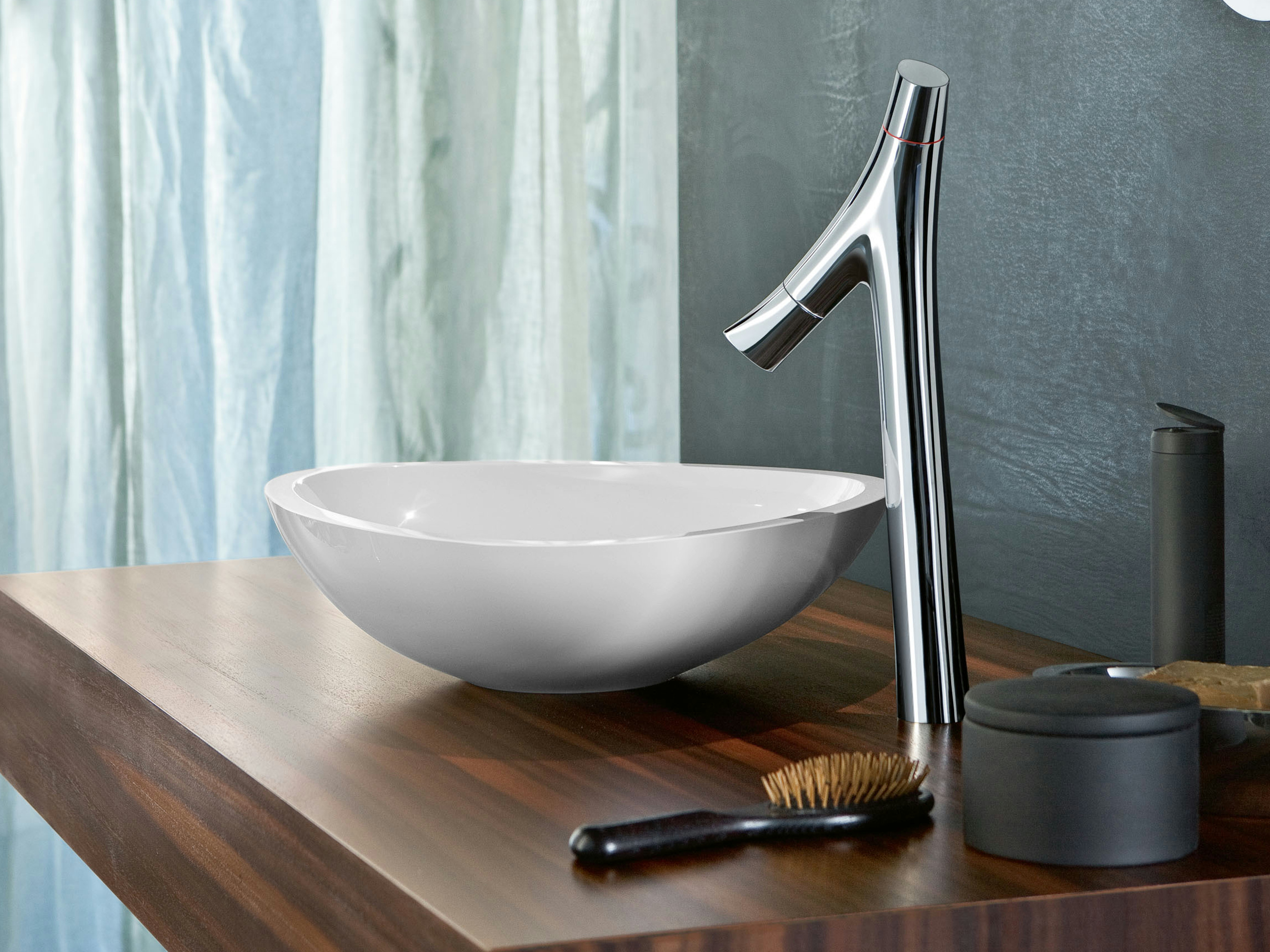 axor starck organic countertop washbasin mixer by hansgrohe design philippe starck. Black Bedroom Furniture Sets. Home Design Ideas