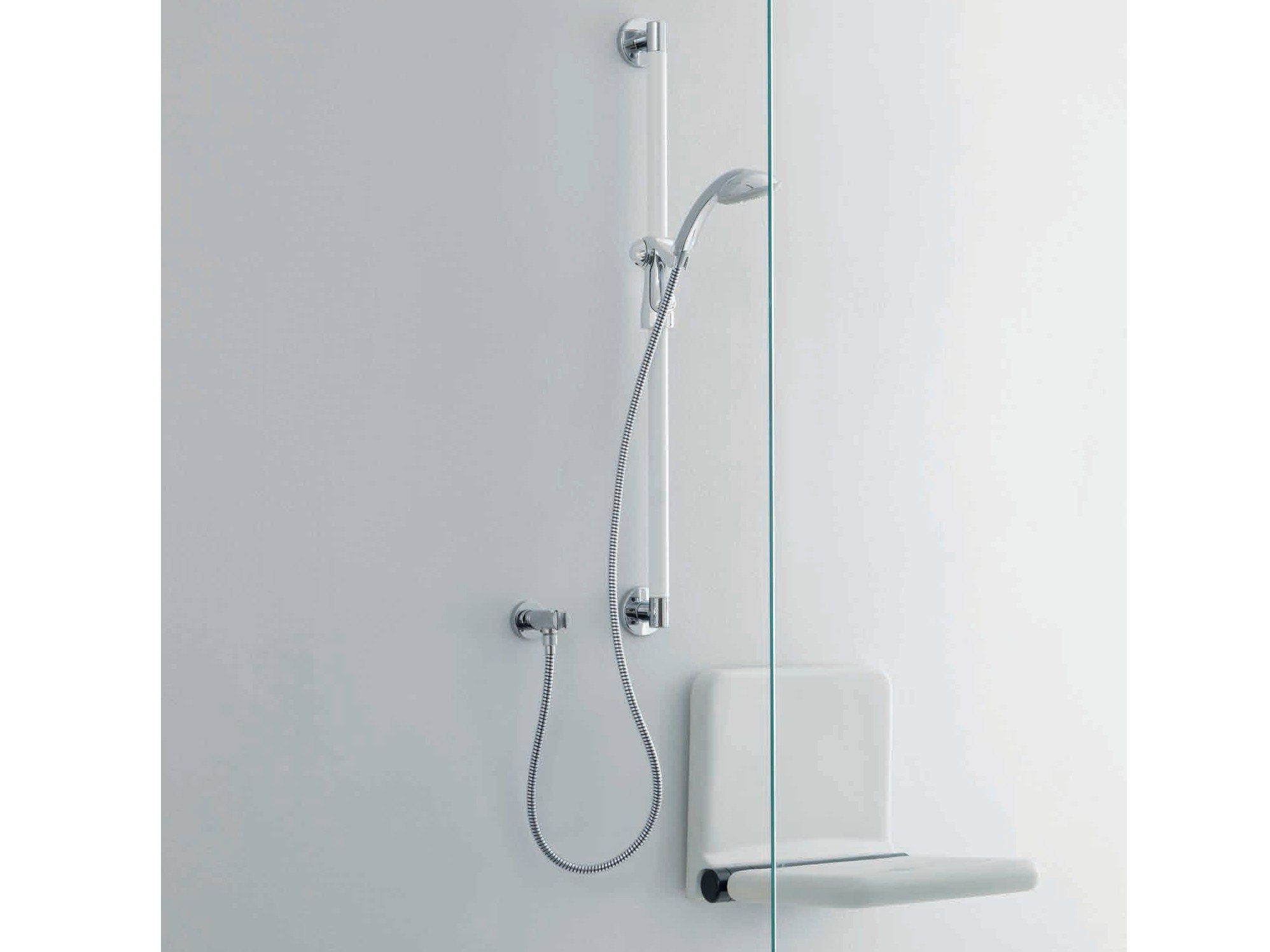 Asiento para ducha abatible by ponte giulio for Asiento ducha