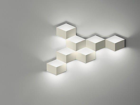 Applique murale à LED en aluminium FOLD SURFACE 4209 by