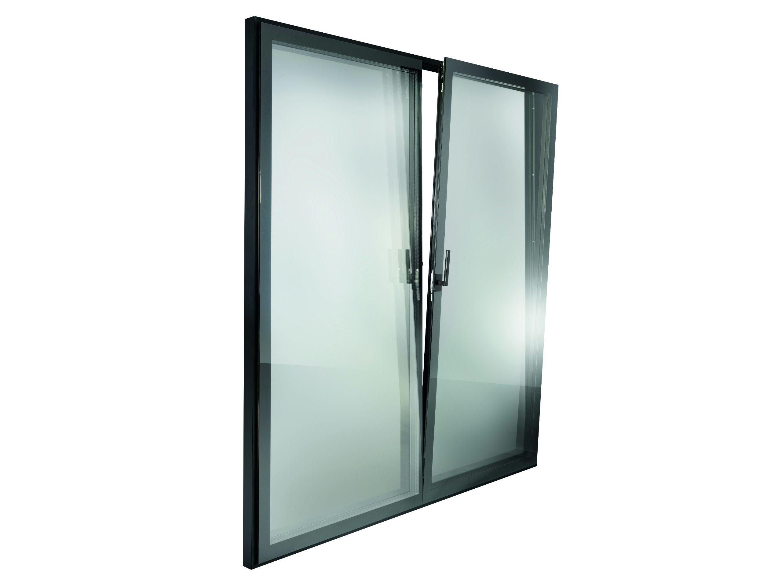 Essenza porta finestra a battente by essenza - Finestre triplo vetro ...