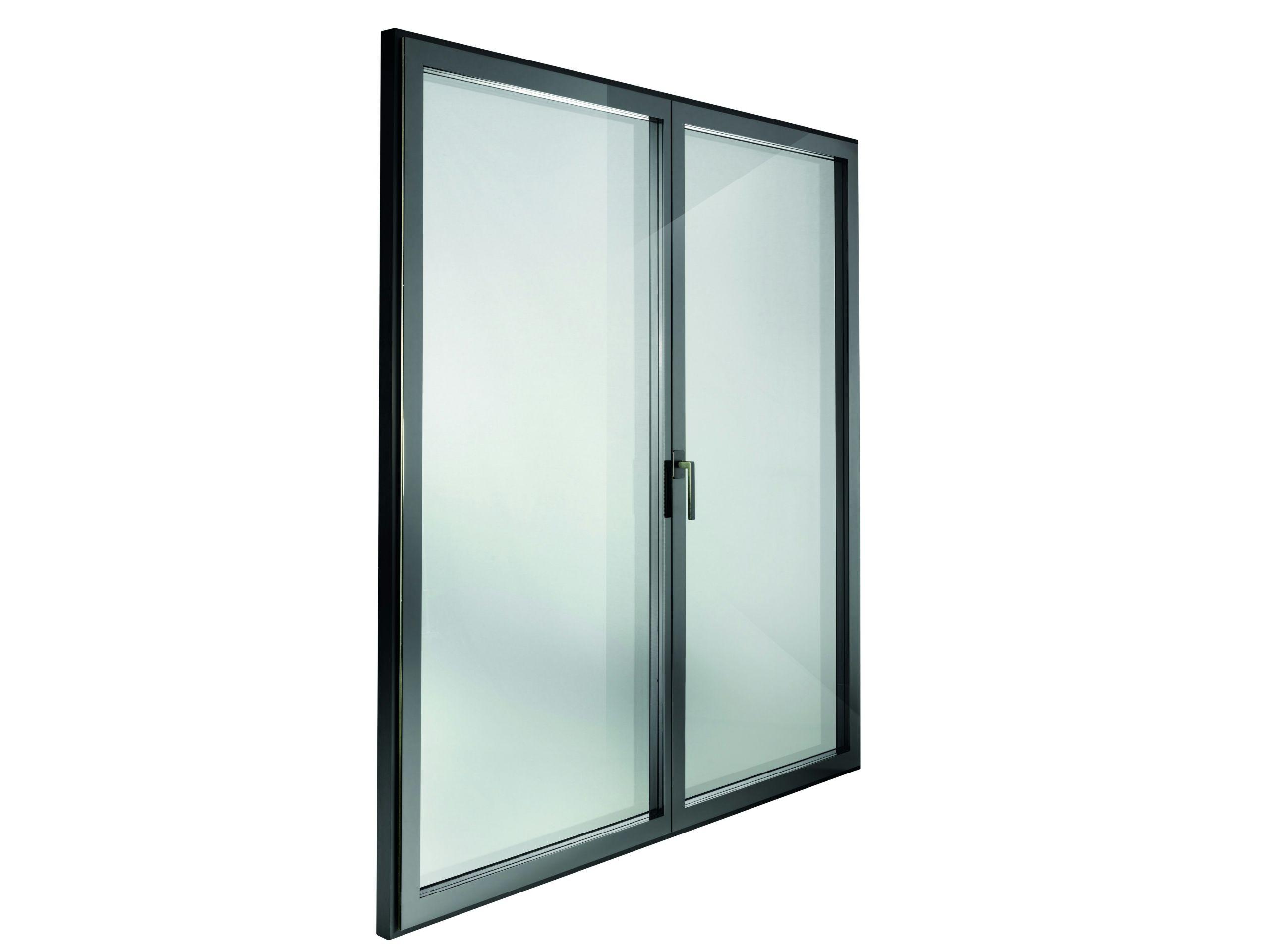 Finestra a battente a taglio termico con triplo vetro for Finestra 4 tolmezzo