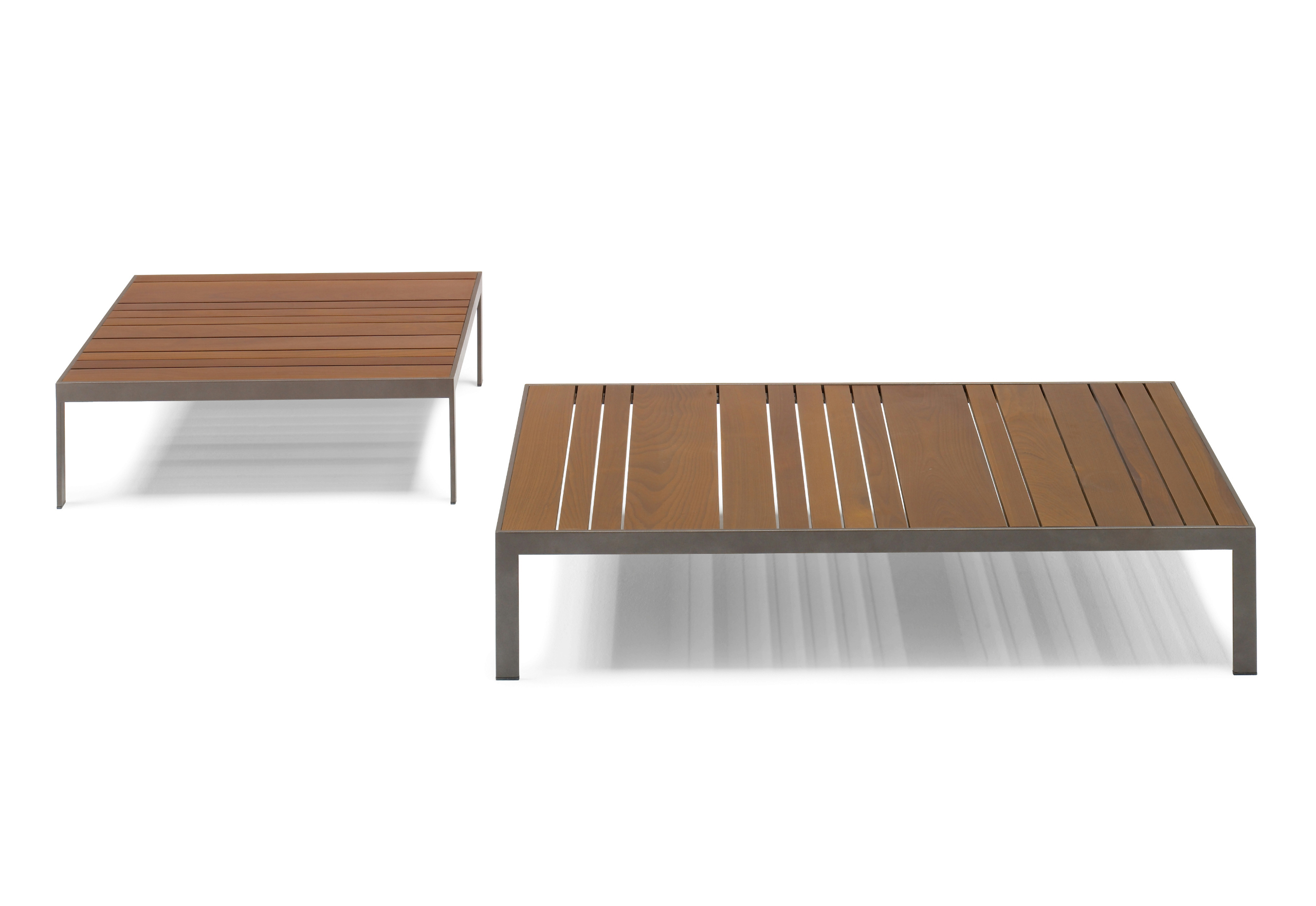 Sand square coffee table by andreu world design lievore altherr molina Low coffee table square
