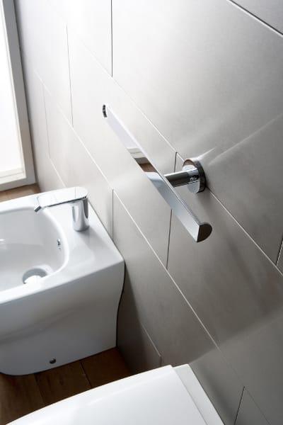 Portarotolo porta asciugamani collezione sento by graff - Porta asciugamani bidet ...