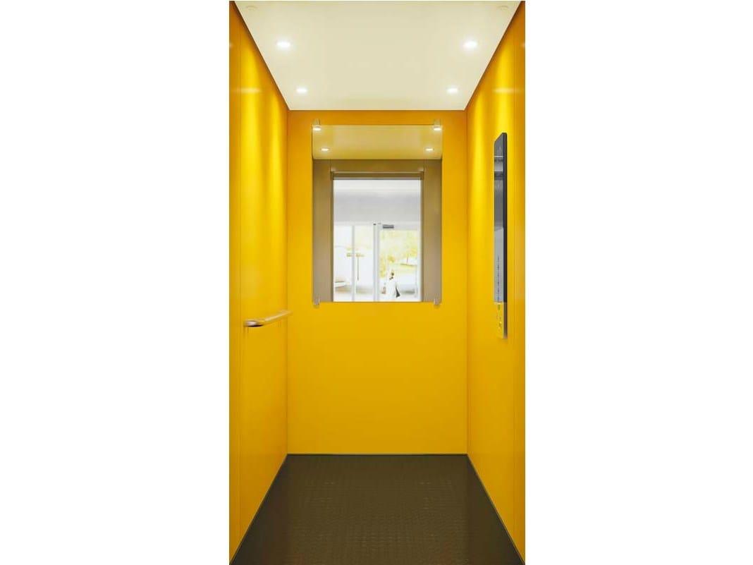 ascenseur sans local de machinerie kone ecospace by kone. Black Bedroom Furniture Sets. Home Design Ideas