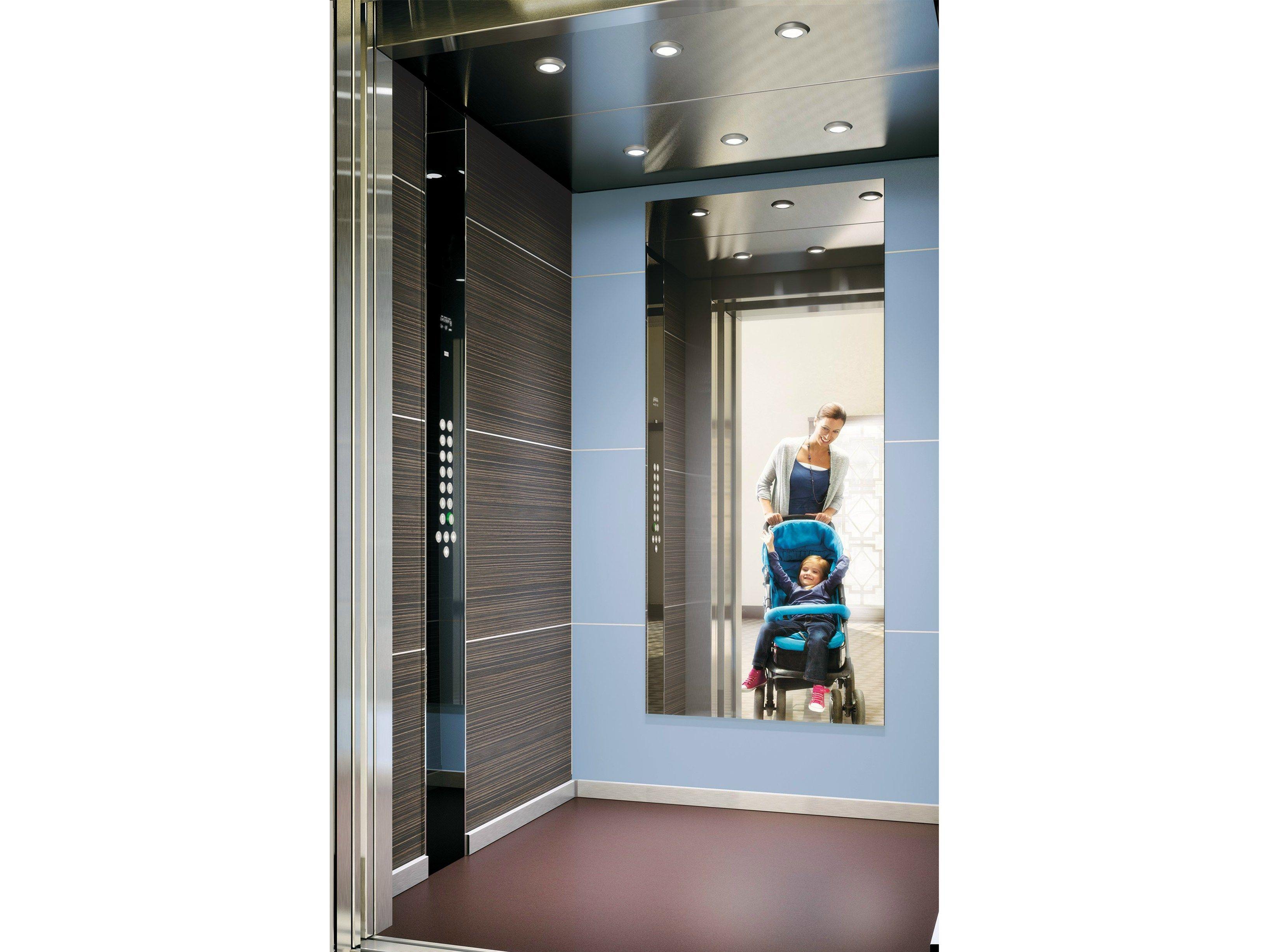 ascenseur sans local de machinerie monospace 500 by kone. Black Bedroom Furniture Sets. Home Design Ideas