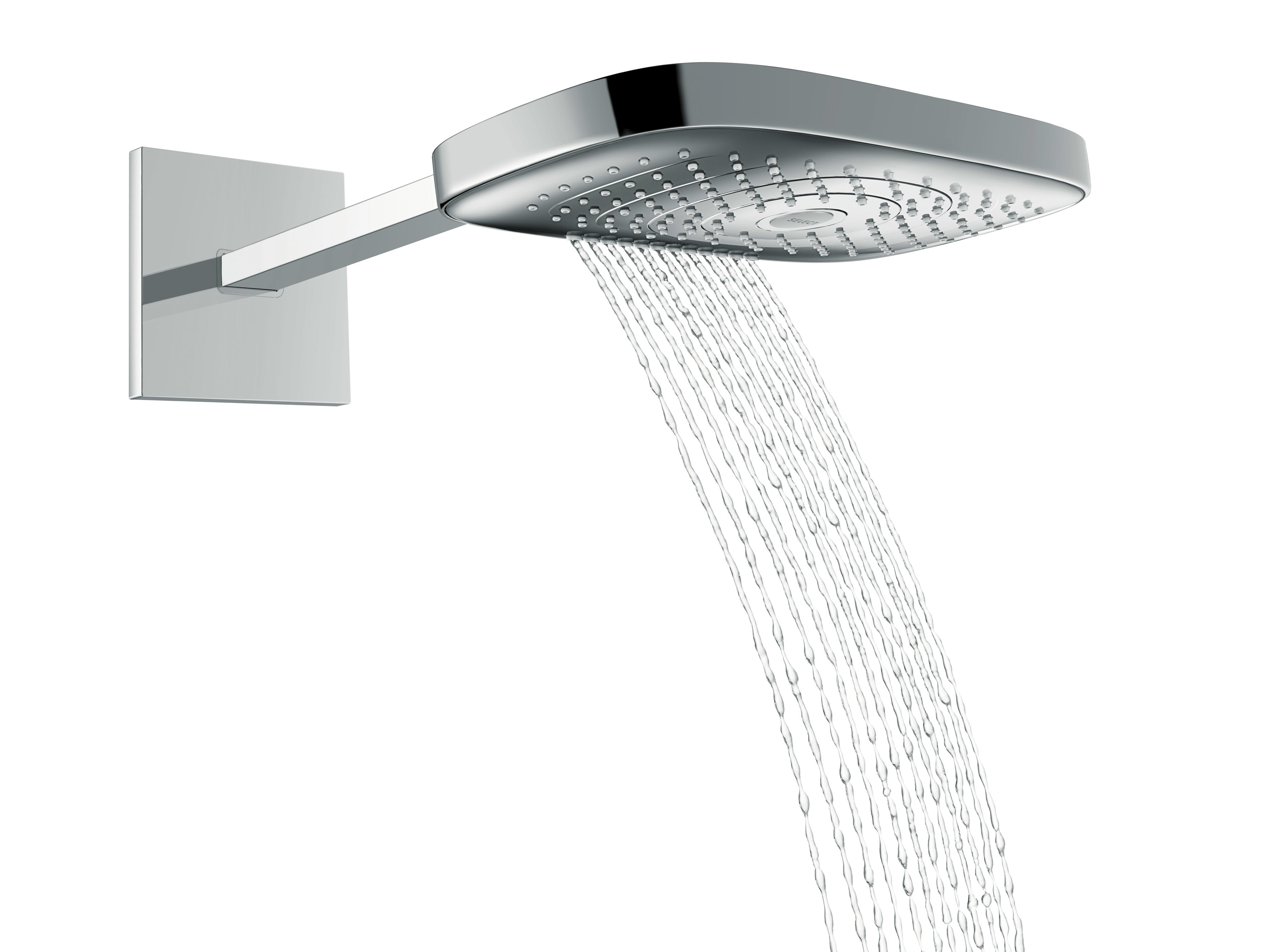 raindance select e 300 wall mounted overhead shower by. Black Bedroom Furniture Sets. Home Design Ideas