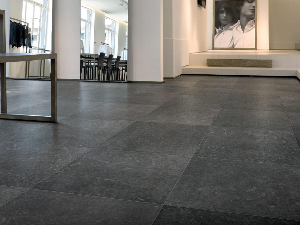 Pavimento in gres porcellanato effetto pietra nordik by - Piastrelle gres porcellanato effetto pietra ...
