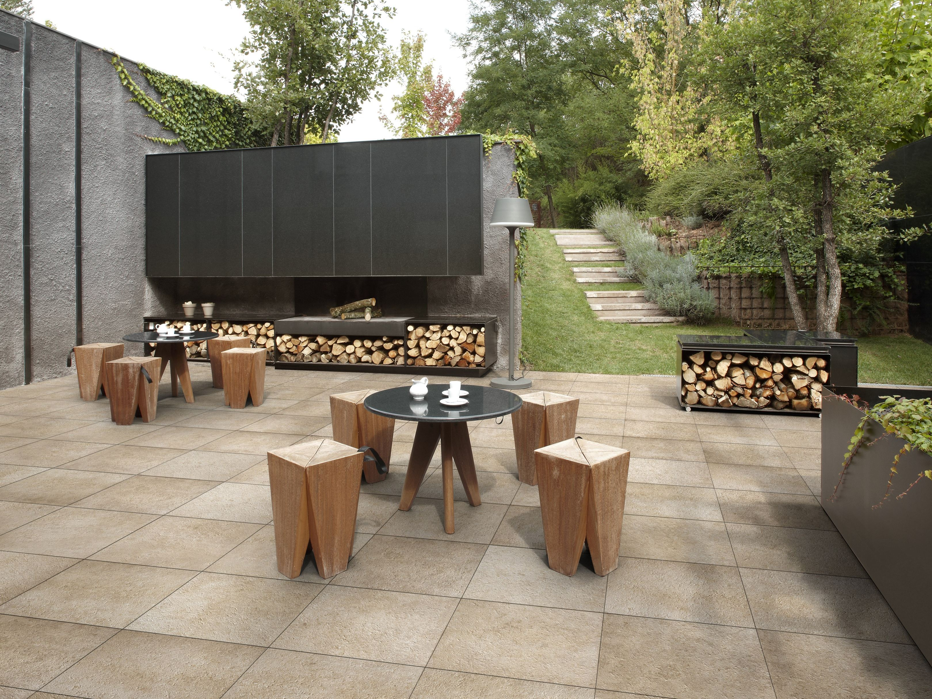 PORCELAIN STONEWARE OUTDOOR FLOOR TILES OUT 2.0 OUT 2.0 ...