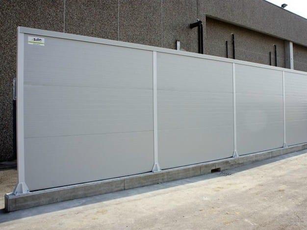 Barriera acustica stradale by silte - Barriere antirumore per terrazzi ...