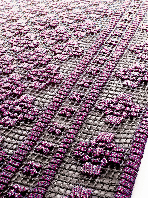 Alfombra para exteriores hecha a mano giardino colecci n for Alfombras nudos hechas mano