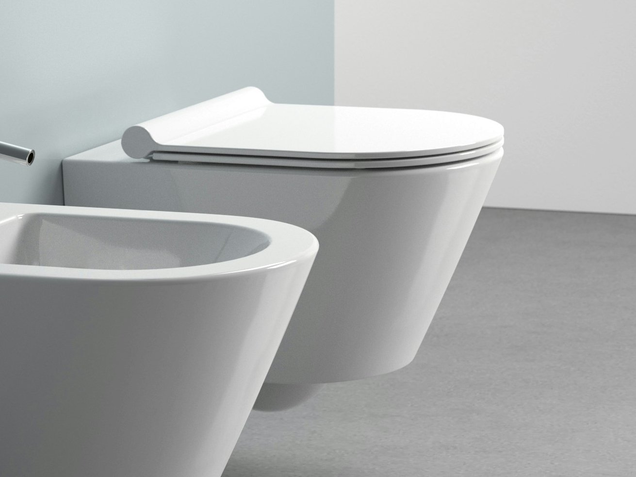zero 50 toilet by ceramica catalano. Black Bedroom Furniture Sets. Home Design Ideas