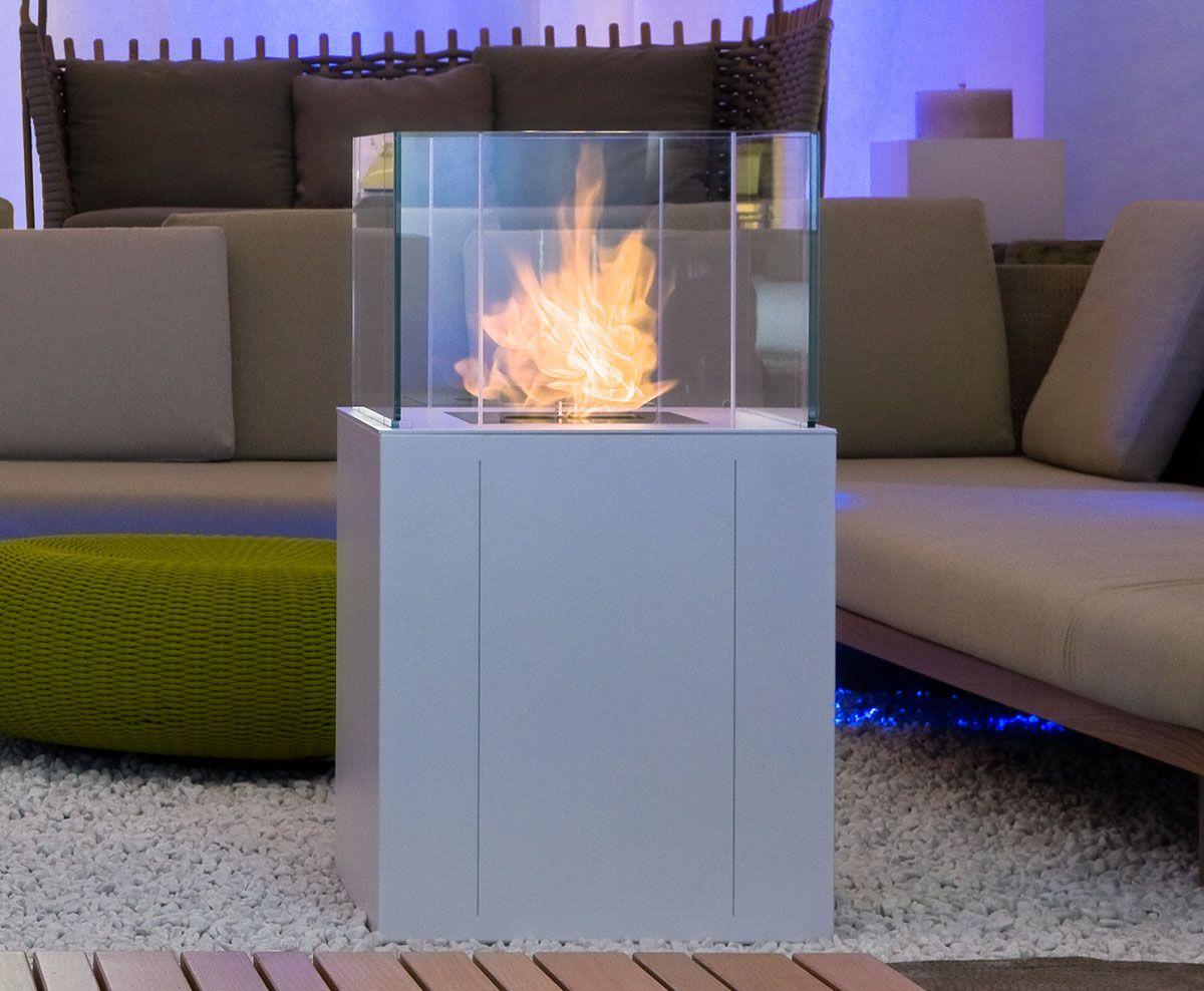 Twin caminetto da esterno by italy dream design kallist - Caminetto per esterno ...