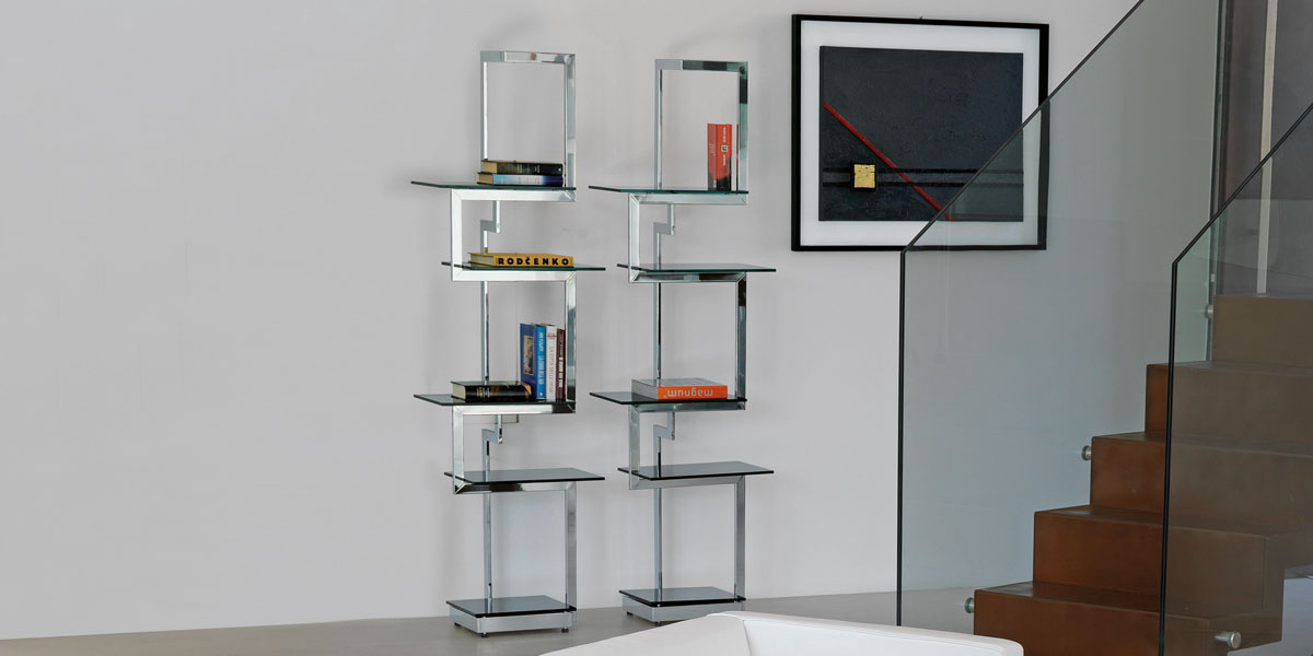 Heritage biblioth que design by italy dream design kallist - Bibliotheque en metal ...