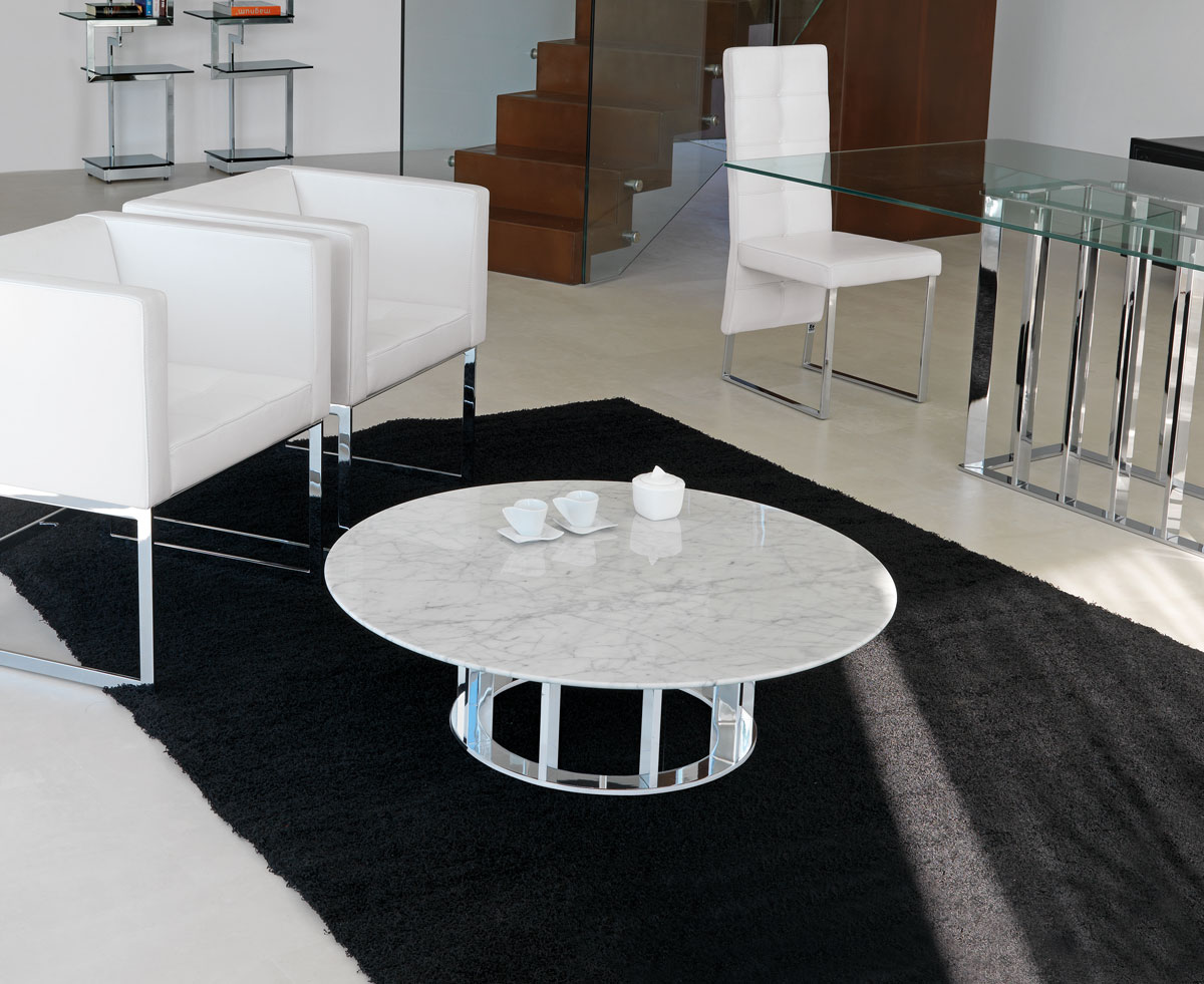 Naxos tavolino rotondo by italy dream design kallist - Casa base milano ...