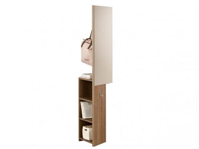 Meuble d 39 entr e en bois collection tweed by gautier france for Meuble d entree en bois