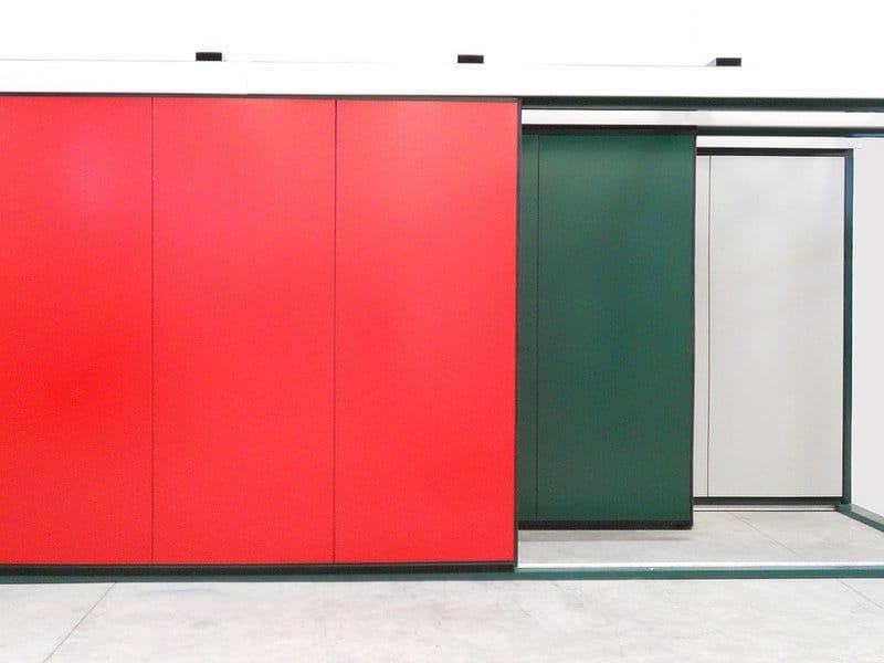 porte industrielle coulissante atlante by breda sistemi. Black Bedroom Furniture Sets. Home Design Ideas
