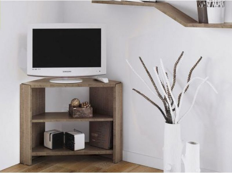 Mervent mueble tv by gautier france for Muebles para esquinas